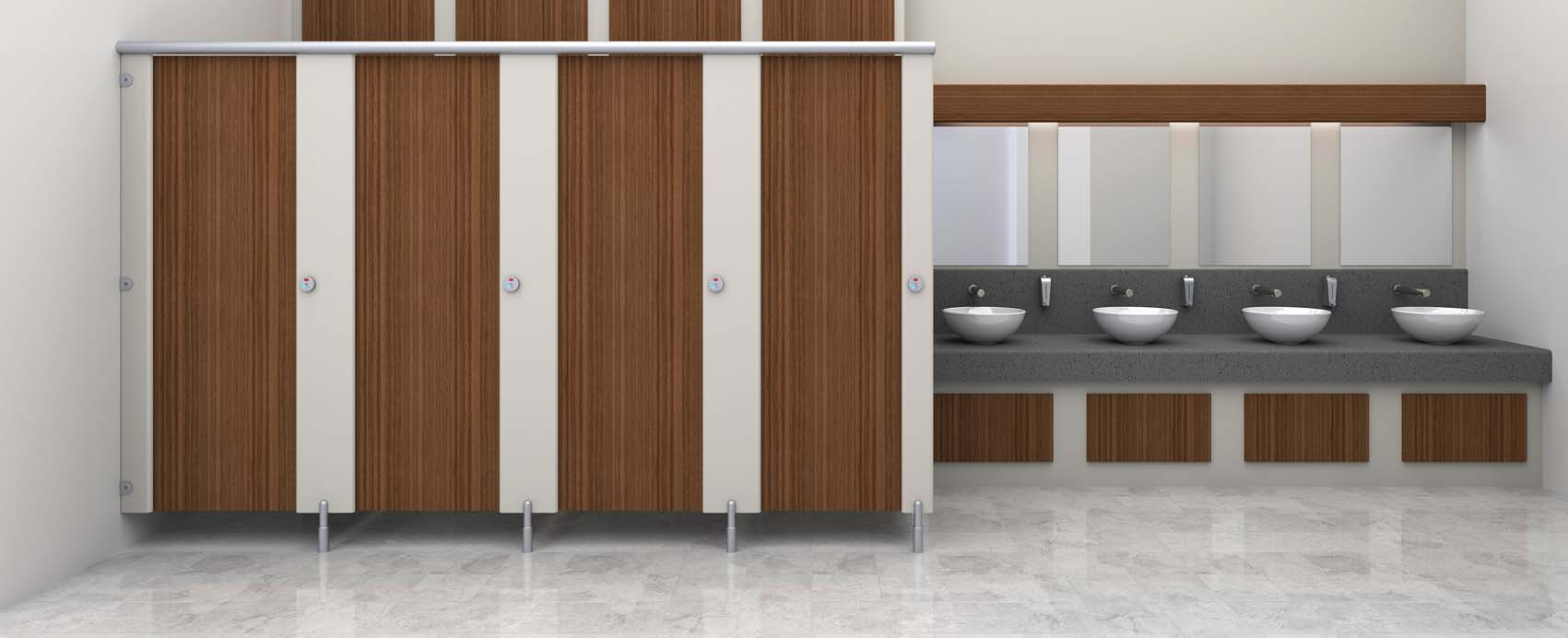 cubicle systems director washroom range