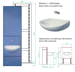 Ips Panels Integrated Plumbing Systems Cubicle Systems