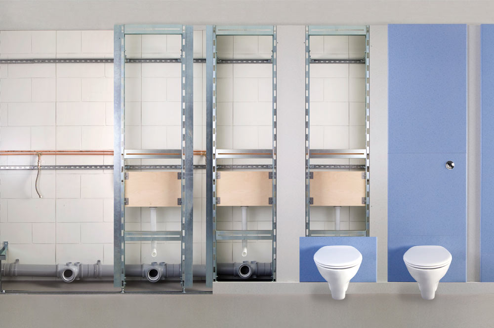 IPS Panels; Integrated Plumbing Systems | Cubicle Systems