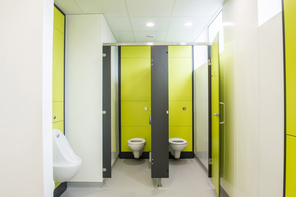 Primary School Toilet Refurbishment Cubicle Systems