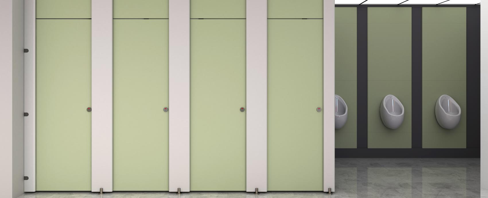 Cubicle Systems Director full height Washroom Range