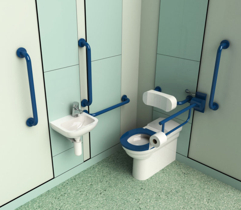 Document M Single Assisted Bathroom Cubicle Systems