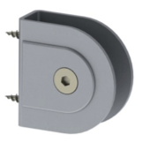 satin anodized aluminium bracket