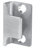 satin stainless steel u shaped keep
