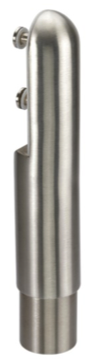 satin stainless steel dome foot support