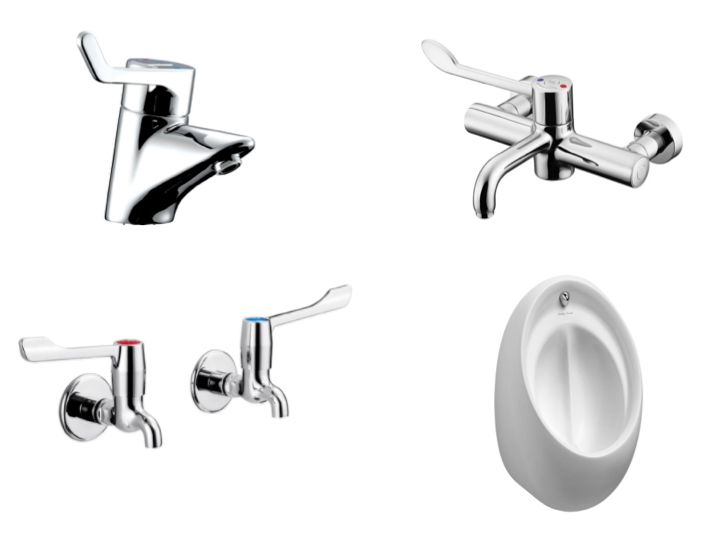 Washroom Taps : Commercial Washroom Taps and Brassware Cubicle Systems