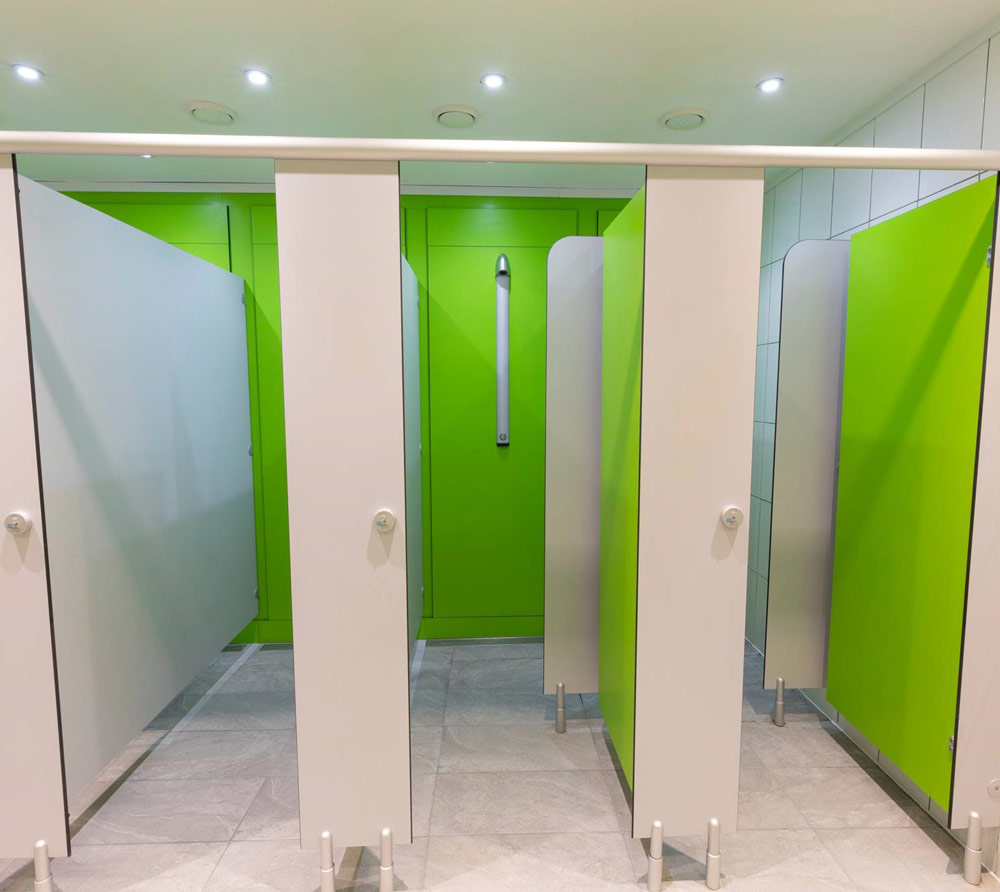 Shower cubicles and changing rooms | Cubicle Systems