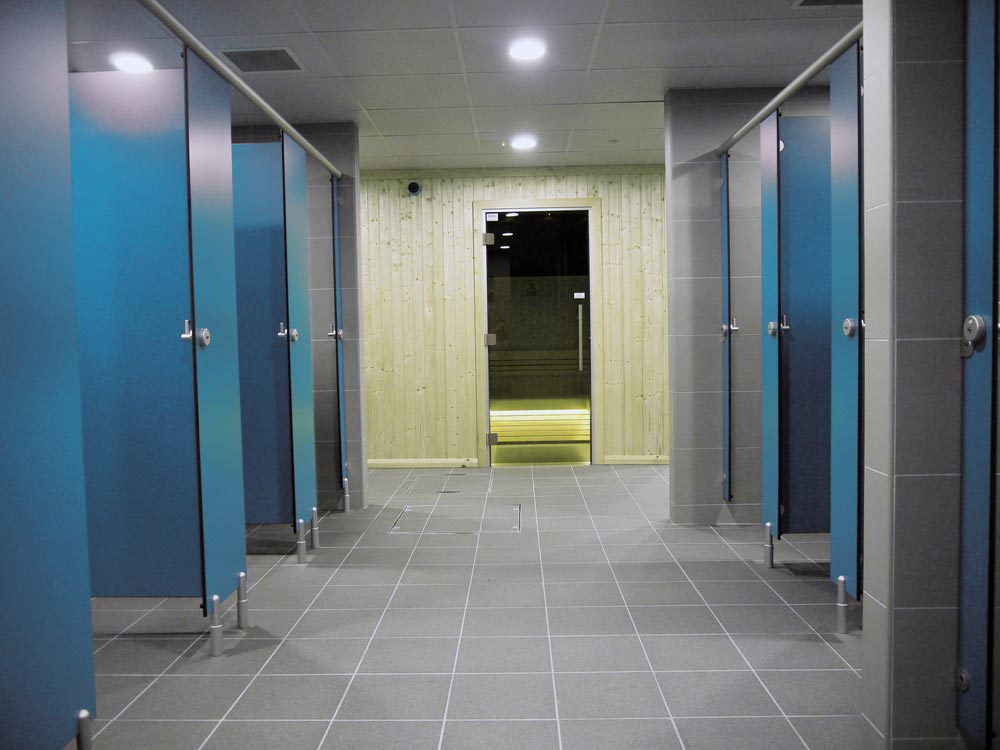 spas  u0026 gyms changing rooms  shower cubicles  washrooms