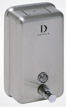 STAINLESS-STEEL-VERTICAL-SOAP-DISPENSER