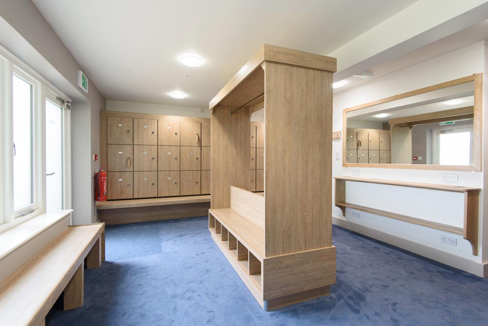 Changing Room Design Cubicle Systems